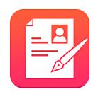 職務経歴書作成アプリのレジュメ