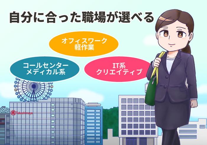 愛媛県松山市のおすすめ派遣会社イメージ