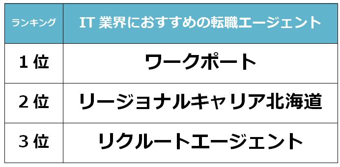 北海道 IT転職エージェント